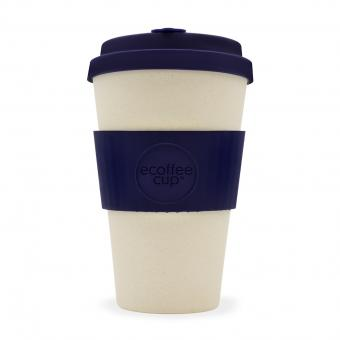 ecoffee cup to go 400ml Blue Nature