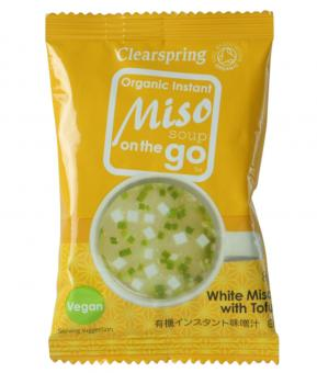 White Miso Soup to go - clearspring - 8 g