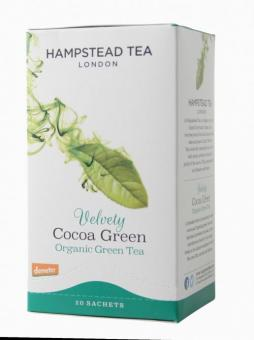 Velvety Cocoa Green- Hampstead Tea - 40 g