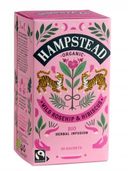 Rosehip Hibiscus Tea - Hampstead Tea - 30 g