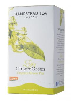 Zesty Ginger Green Tea - Hampstead Tea - 40 g