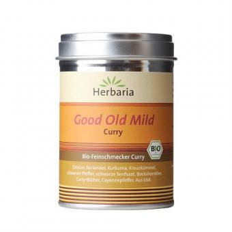 Herbaria Good Old Mild Curry - 80 g Gewürzdose