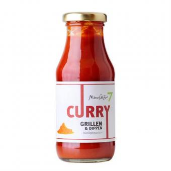 Grillsauce Curry - Tomate 7 - 250ml