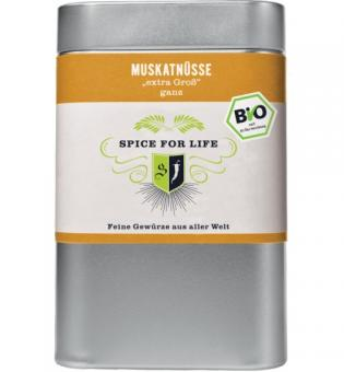Bio Muskatnuss - Spice for Life - 70g