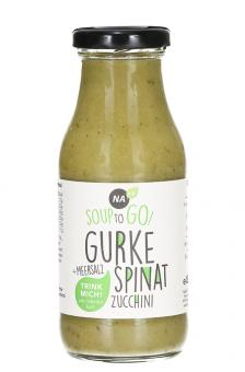 Soup to Go Gurke Spinat - Nabio - 240ml