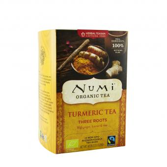 Turmeric Tea Three Roots - Numi Tee - 40,2g