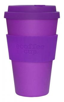 ecoffee cup to go 400ml Purple Reign
