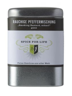 rauchige Pfeffermischung - Spice for Life - 80 g - MHD 12/17