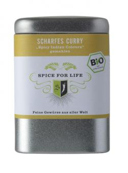 Curry Scharf - Spicy Indian Colours - 80 g Dose