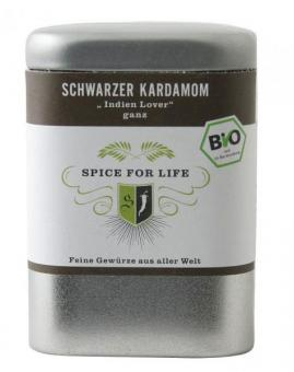 Schwarzer Kardamom - Spice for Life -Black Tasty Indian - 30 g