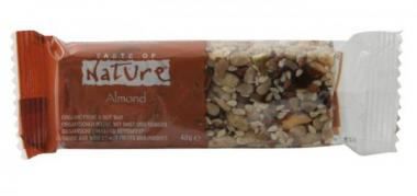 Bio Müsliriegel California Almond - Taste of Nature - 40g