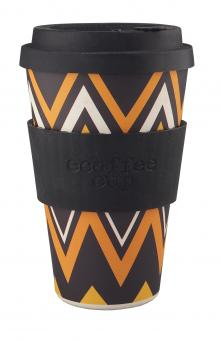 ecoffee cup to go 400ml ZignZag